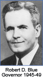 Robert D. Blue Governor